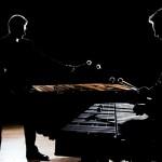 Patrick Raab and Johan Bridger on stage
